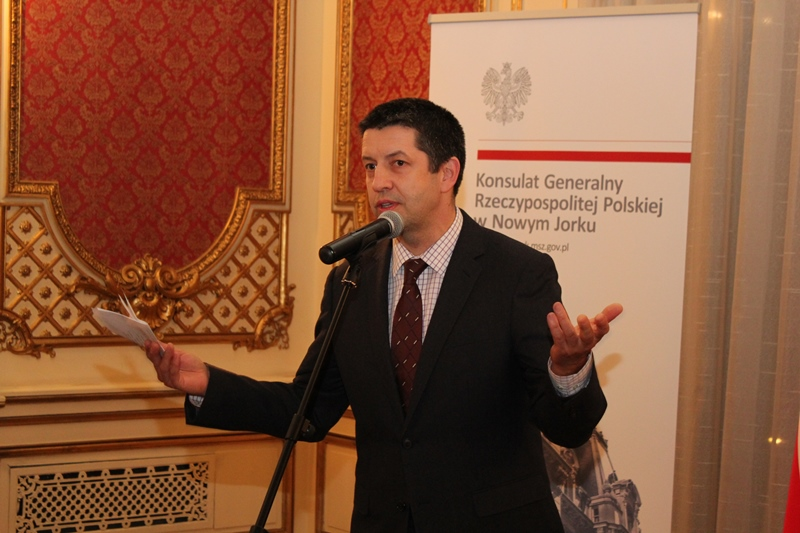 Artur Rucinski at the Consulate March 2016