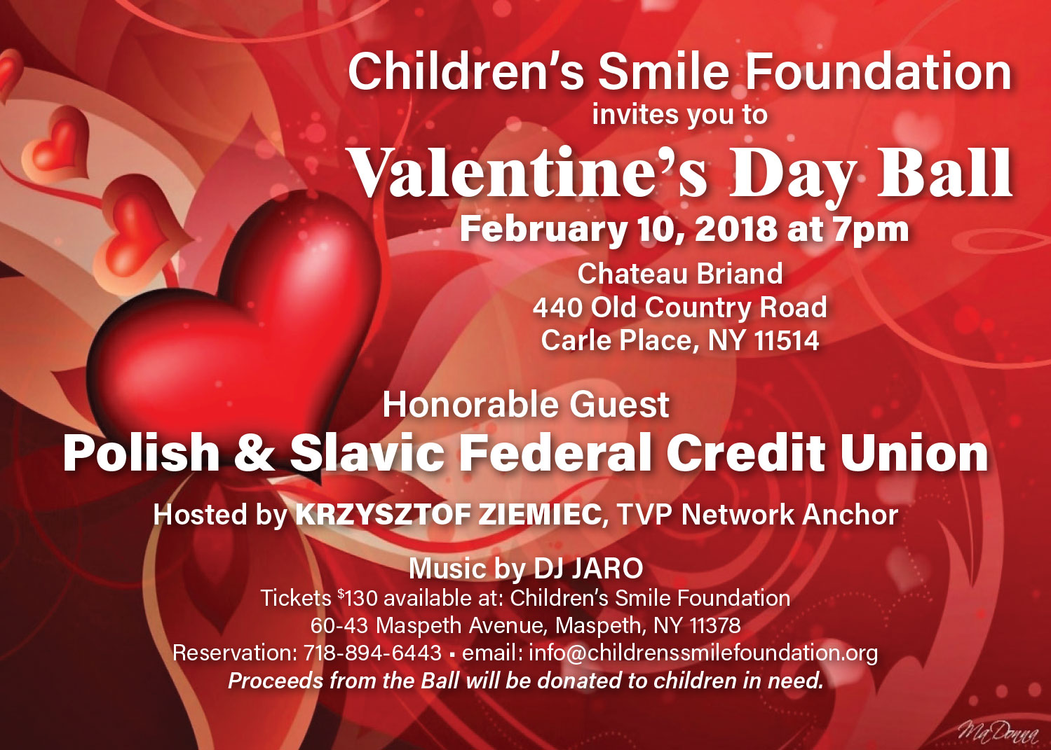 Valentine's Ball at Chateau Briand