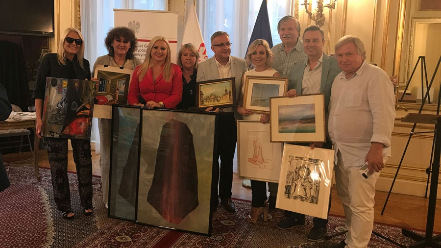 2018 Annual Art Auction at the Polish Consulate