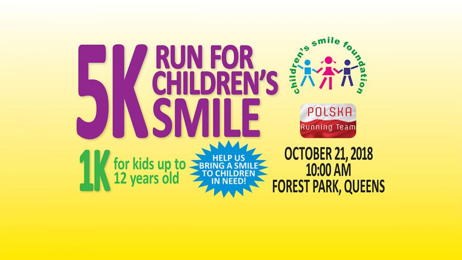 "5K ""Run For Childrens's Smile"" and 1K For Kids"