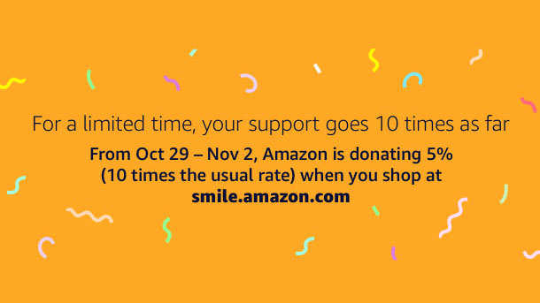 Select Childrens' Smile Foundation on AmazonSmile